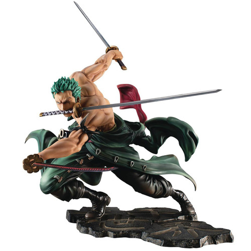 One Piece Portrait of Pirates Maximum Series Roronoa Zoro 8-Inch Collectible PVC Figure