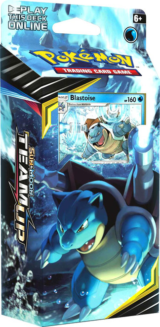 Pokemon Trading Card Game Sun & Moon Team Up Torrential Cannon Theme Deck [Blastoise]