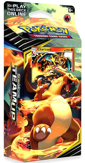 Pokemon Trading Card Game Sun & Moon Team Up Relentless Flame Theme Deck [Charizard]