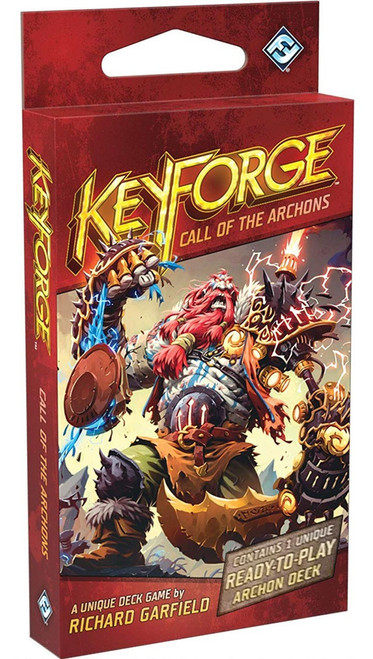 KeyForge Unique Deck Game Call of the Archons Archon Deck KF02a [2nd Printing]