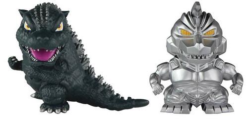 Chibi Godzilla & Mechagodzilla Mini Figure 2-Pack