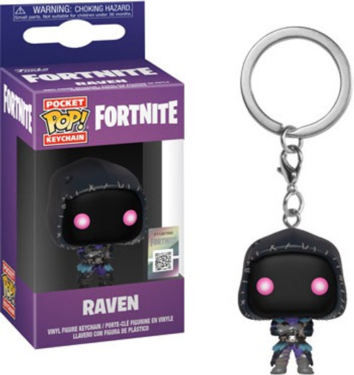Funko Fortnite Series 2 Pocket POP! Games Raven Keychain