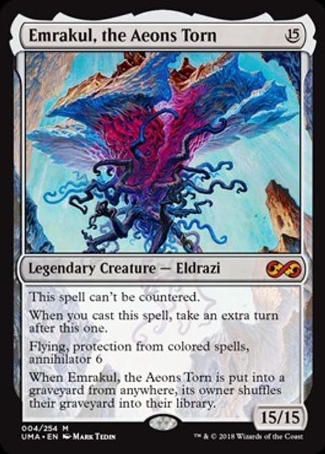 MtG Ultimate Masters Mythic Rare Emrakul, the Aeons Torn #4