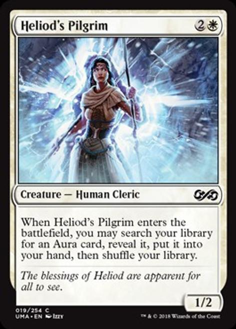MtG Ultimate Masters Common Foil Heliod's Pilgrim #19