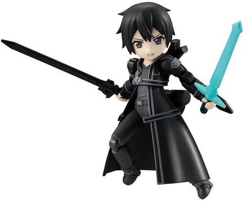 Sword Art Online Desktop Army Kirito Mini Action Figure #01