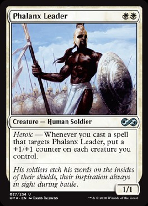 MtG Ultimate Masters Uncommon Foil Phalanx Leader #27