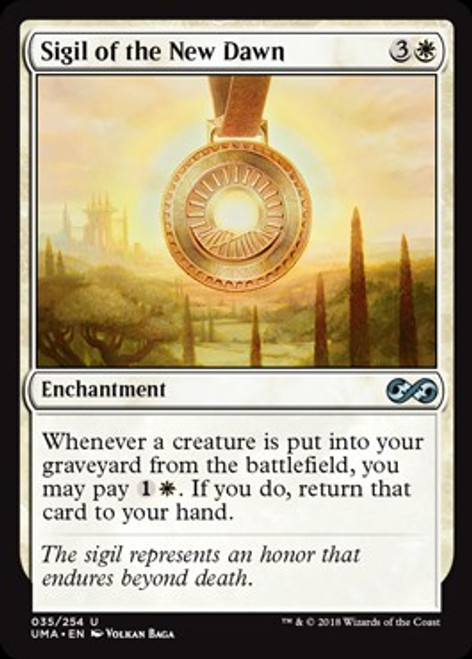 MtG Ultimate Masters Uncommon Foil Sigil of the New Dawn #35