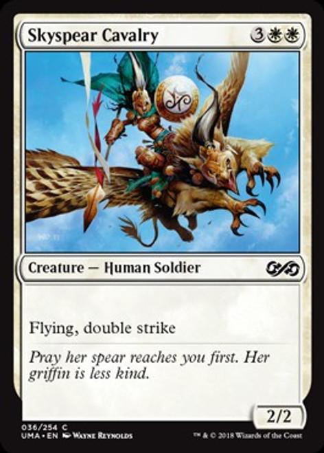 MtG Ultimate Masters Common Foil Skyspear Cavalry #36