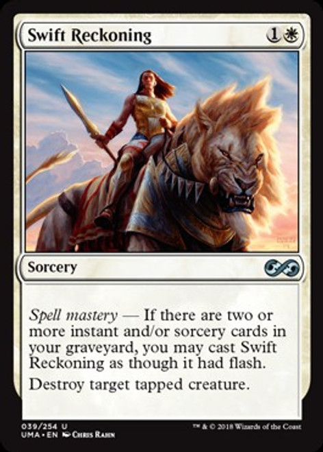 MtG Ultimate Masters Uncommon Foil Swift Reckoning #39