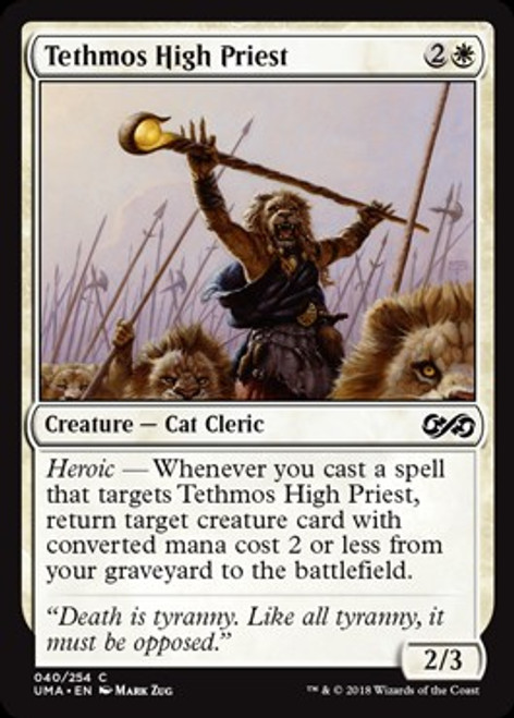 MtG Ultimate Masters Common Foil Tethmos High Priest #40