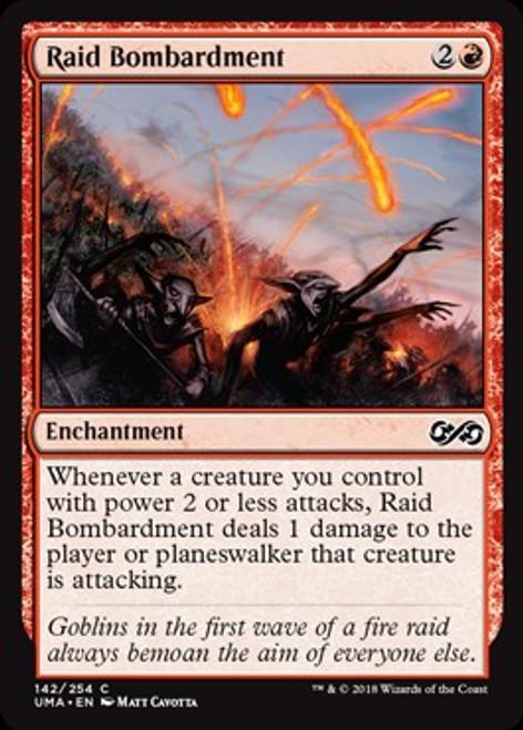 MtG Ultimate Masters Common Foil Raid Bombardment #142