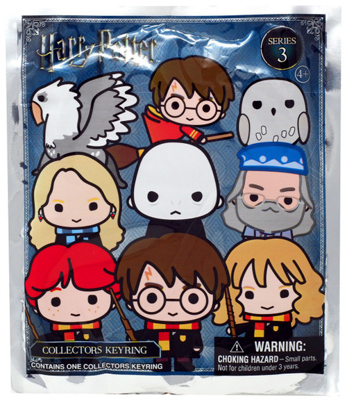 3D Figural Keyring Harry Potter Series 3 Mystery Pack