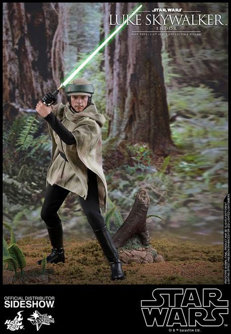 Star Wars Return of the Jedi Movie Masterpiece Luke Skywalker Collectible Figure MMS516 [Endor Version]
