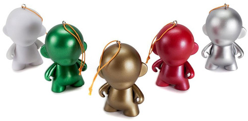 MunnyWorld Customizalbe DIY Munny World 2.5-Inch Ornament 5-Pack