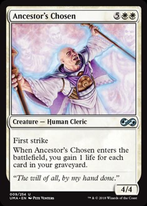 MtG Ultimate Masters Uncommon Foil Ancestor's Chosen #9