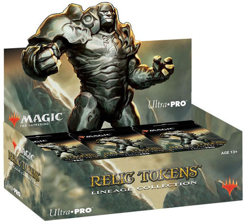 Ultra Pro MtG Trading Card Game Relic Tokens Lineage Collection Mystery Box