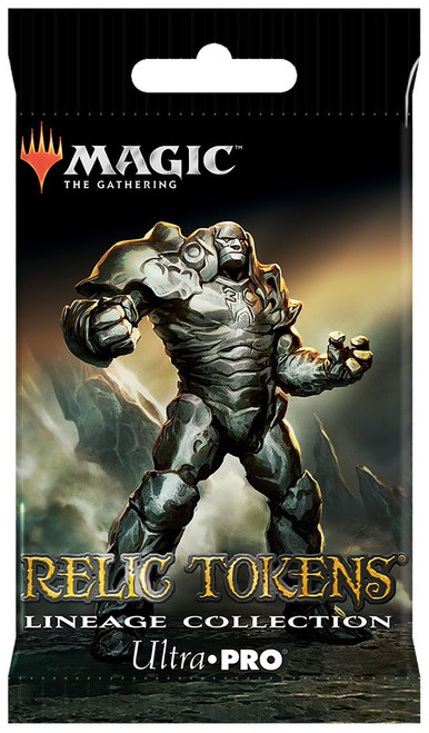 Ultra Pro MtG Trading Card Game Relic Tokens Lineage Collection Mystery Pack