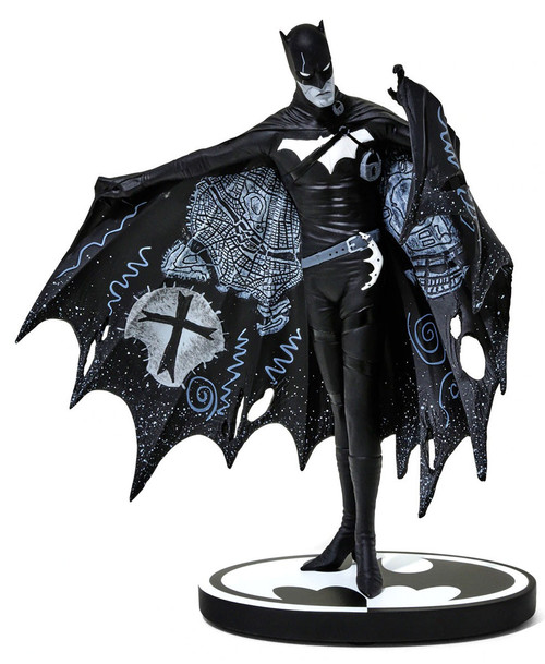 Black & White Batman Exclusive 7-Inch Statue [Gerard Way, White Detailing]