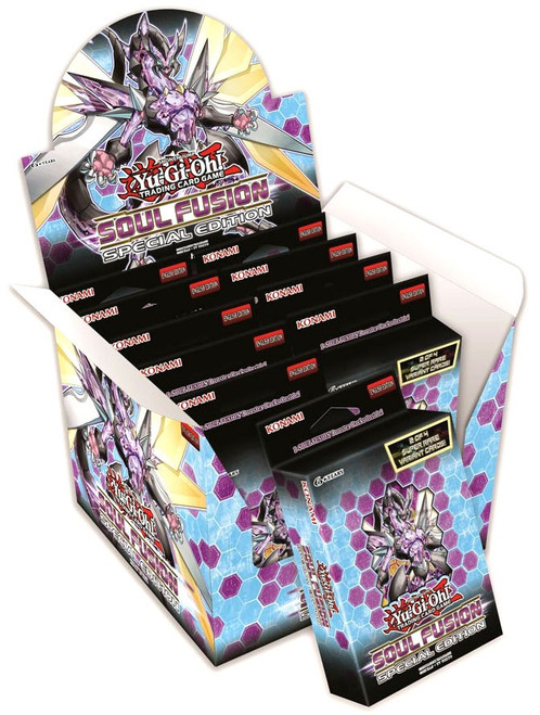YuGiOh Trading Card Game Soul Fusion Special Edition DISPLAY Box [10 Units]
