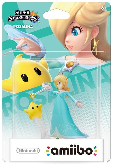 Nintendo Super Smash Bros Amiibo Rosalina Mini Figure