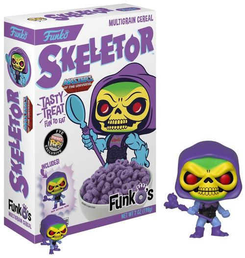 FunkO's Masters of the Universe Skeletor Exclusive 7 Oz. Breakfast Cereal