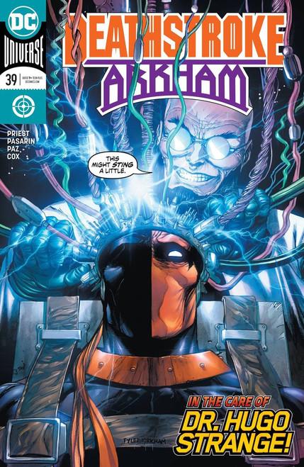 DC Deathstroke #39 Arkham Comic Book