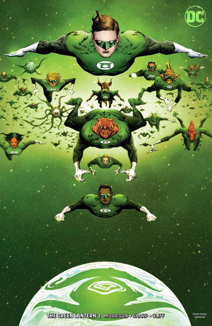 DC Green Lantern #3 Comic Book [Jae Lee Variant Cover]