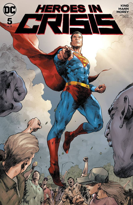 DC Heroes In Crisis #5 of 9 Comic Book