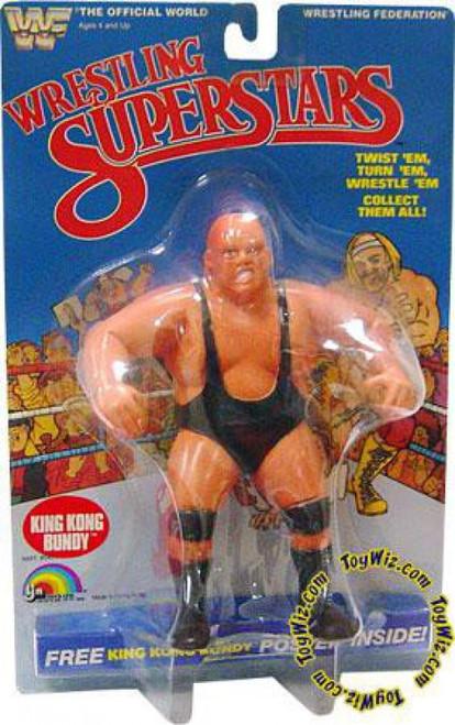 WWE Wrestling WWF Wrestling Superstars King Kong Bundy Action Figure