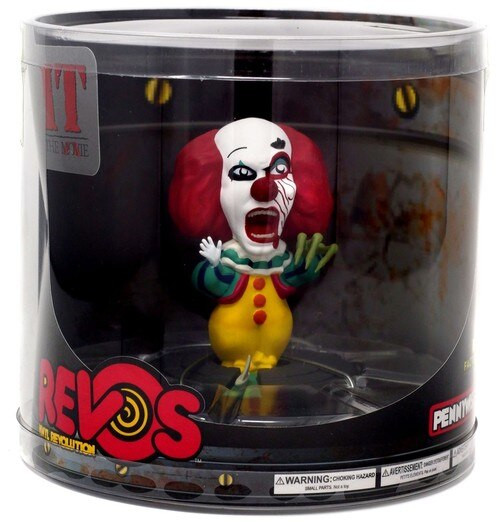 REVOs IT Movie (1990) Famous Fiends Wave 1 Pennywise Vinyl Figure