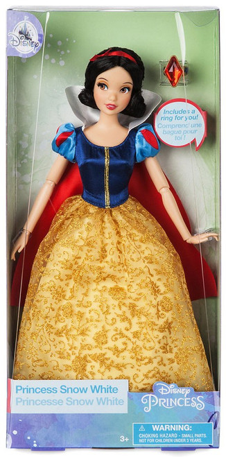 Disney Princess Classic Snow White Exclusive 11.5-Inch Doll [With Ring, Damaged Package]