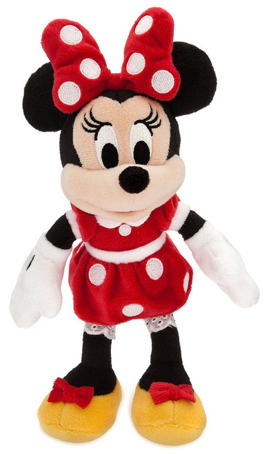Disney Minnie Mouse Exclusive 9.5-Inch Mini Bean Bag Plush