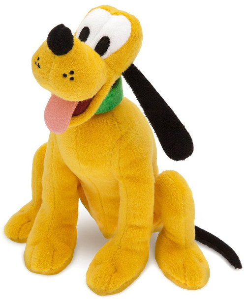 Disney Pluto Exclusive 8-Inch Mini Bean Bag Plush