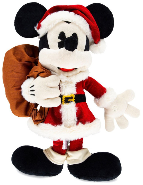 Disney 2018 Holiday Mickey Mouse Exclusive 18-Inch Plush [Santa]