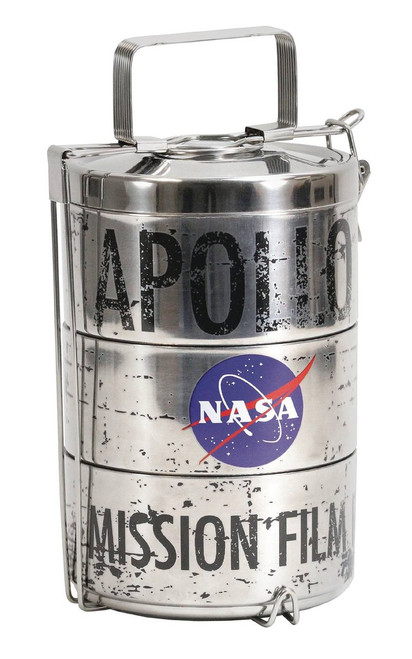 NASA Mission Film Canister Apollo Moon Landing Lunch Tin