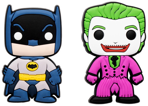 Funko DC Batman & Joker Exclusive Magnet 2-Pack