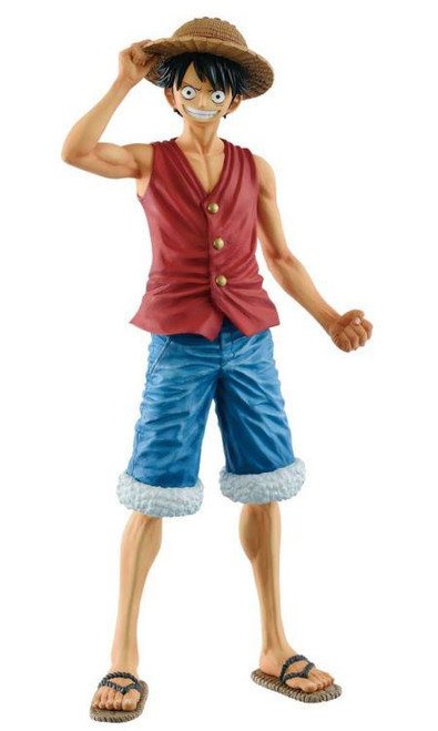 One Piece Masterlise 20th Anniversary Monkey D. Luffy 9.8-Inch Collectible PVC Figure