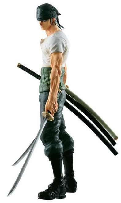 One Piece Masterlise 20th Anniversary Roronoa Zoro 9.8-Inch Collectible PVC Figure