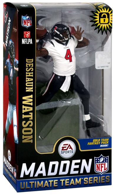 McFarlane Toys NFL Houston Texans EA Sports Madden 19 Ultimate Team Series 2 Deshaun Watson Action Figure [White Jersey]