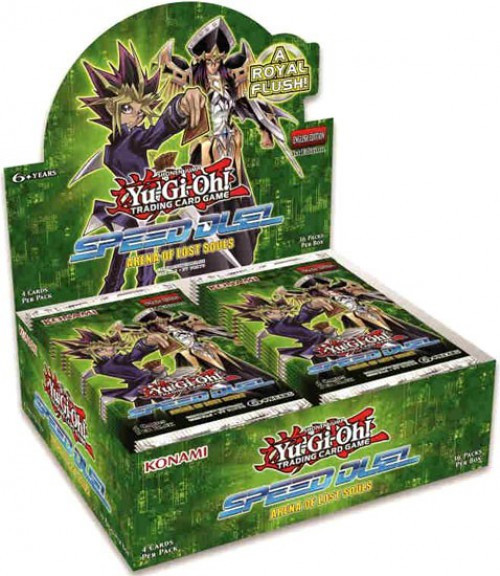 YuGiOh Trading Card Game Speed Duel Arena of Lost Souls Booster Box [36 Packs]