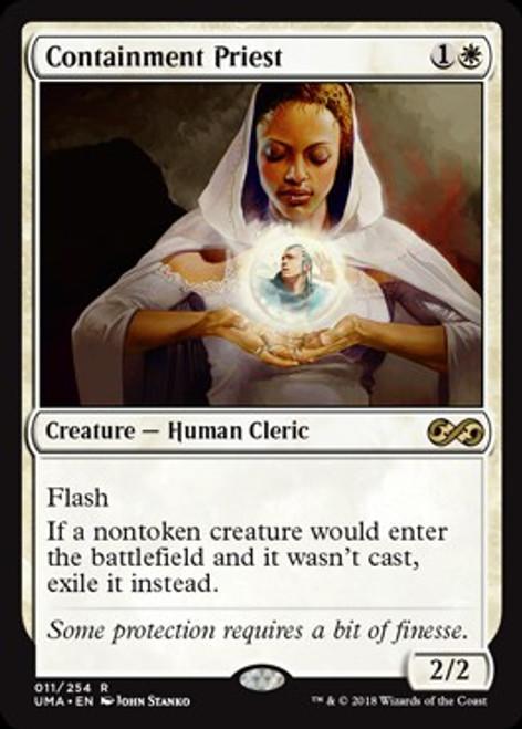 MtG Ultimate Masters Rare Foil Containment Priest #11