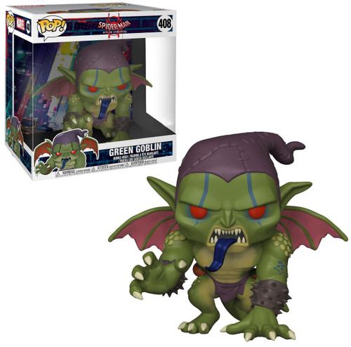 Funko Spider-Man Into the Spider-Verse POP! Marvel Green Goblin Exclusive 10-Inch Vinyl Bobble Head [Super-Sized]