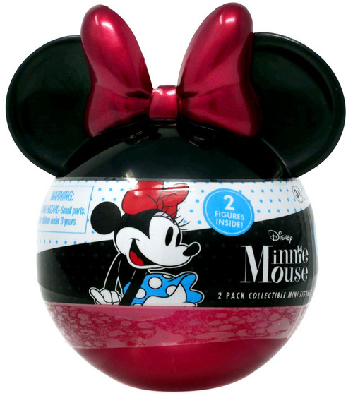 Disney Minnie Mouse 2-Inch Mystery 2-Pack