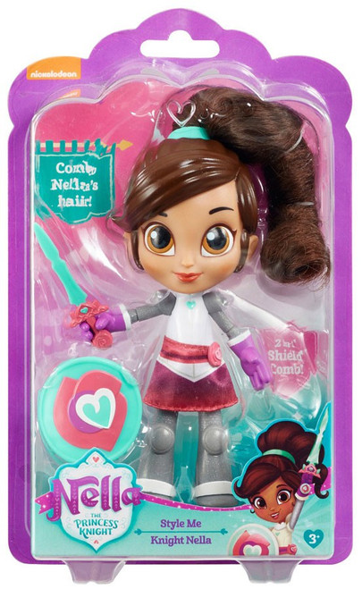 Nickelodeon Nella The Princess Knight Style Me Knight Nella 7-Inch Figure [Damaged Package]