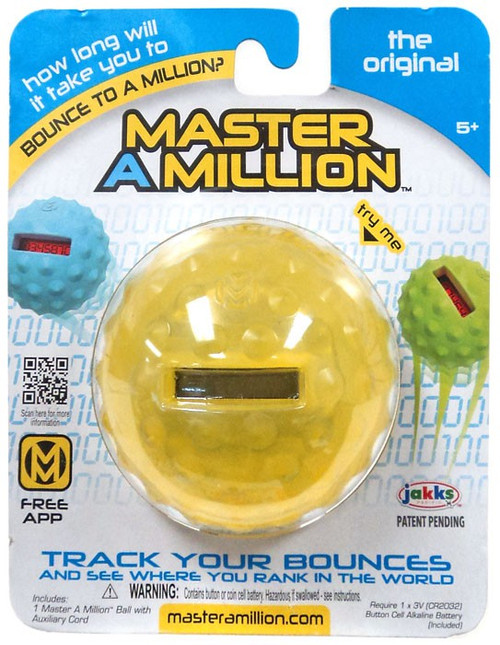 Master a Million Yellow Bouncy Ball [Original Version, Damaged Package]