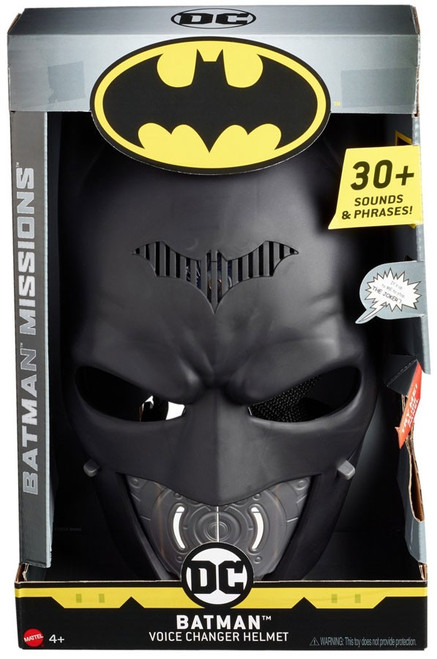 DC Batman Missions Batman Voice Changer Helmet [Damaged Package]