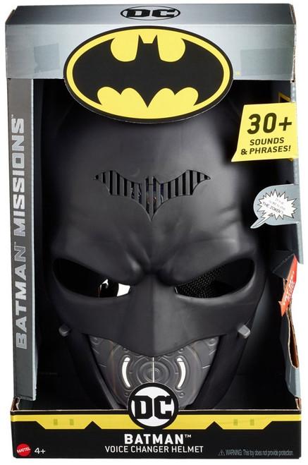 DC Batman Missions Batman Voice Changer Helmet [Damaged Package]
