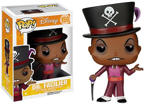 Funko The Princess & The Frog POP! Disney Dr. Facilier Vinyl Figure #150 [Damaged Package]