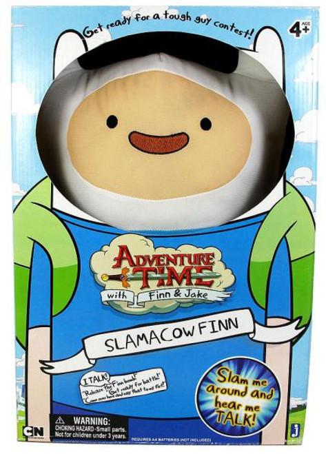 Adventure Time Slamacow Finn 20-Inch Plush [Damaged Package]