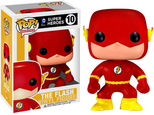 Funko DC Universe POP! Heroes The Flash Vinyl Figure #10 [Damaged Package]
